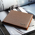 Fashion Mens Leather Bifold Credit/ID Card Holder Wallet Coin Purse Best Gift Drop Shipping Jan6