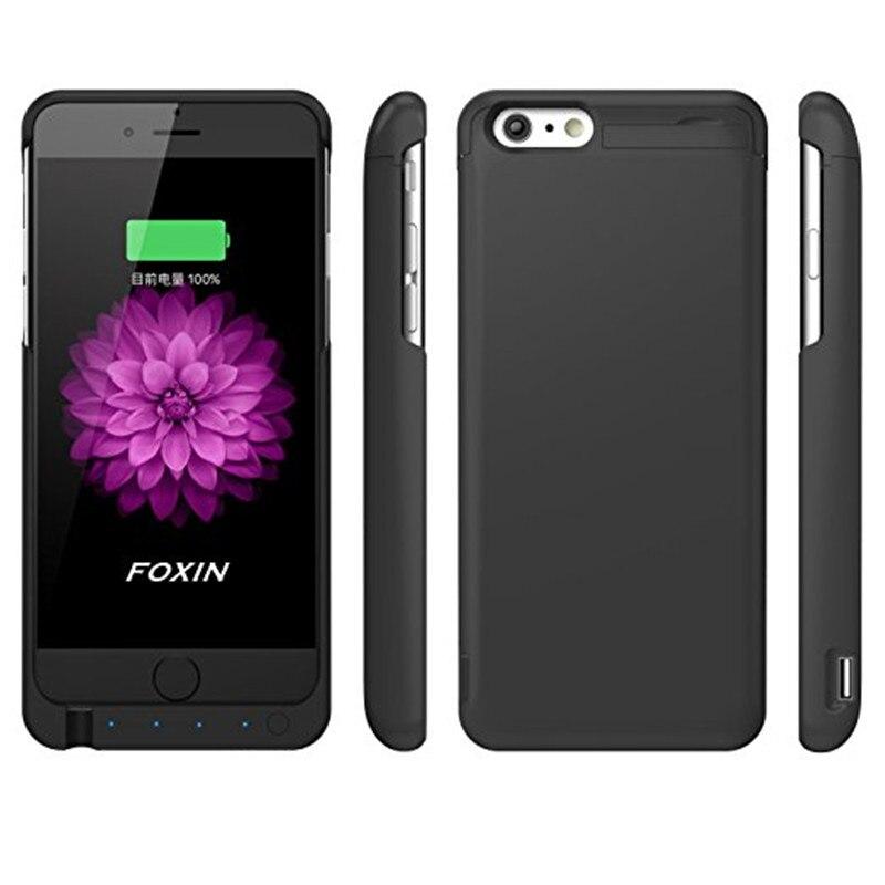 bilder für Für iPhone 6 Batteriefach, 7000 mAh Verlängerte Batterie Fall Wiederaufladbare Energien-bank Ladetasche für iPhone 6/6 s (4,7 zoll) (