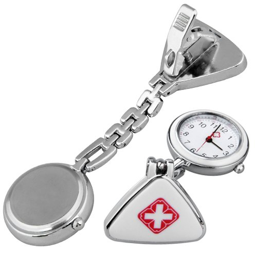 YCYS-Clip Nurse Doctor E Pendant Pocket Quartz Watch