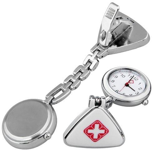 YCYS-Clip Nurse Doctor E Pendant Pocket Quartz Watch