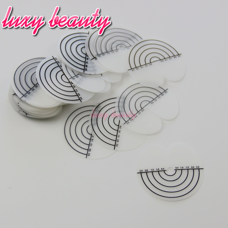 50pcs a lot Heat Scale Protector Shields Hair Extension Tool Part, Skull Protector for Fusion Hair Extension