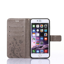 Case For IPhone 5 SE PU Leather + Soft Silicon Wallet Cover For Apple IPhone 5S Case Phone