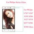 Экран протектор для Philips Xenium X588 закаленное Стекло для Philips V787 V387 S395 S386 S327 S318 S257 X586 защитный Стекло - фото