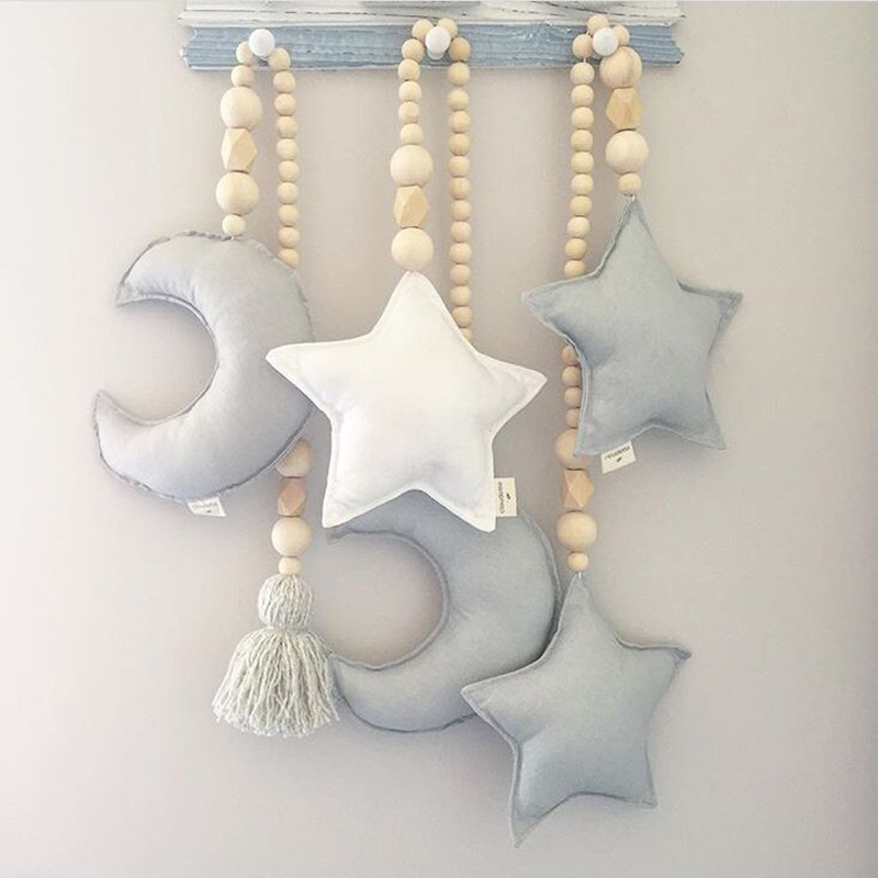 Tel Wooden Beads Ornament Ins Nordic