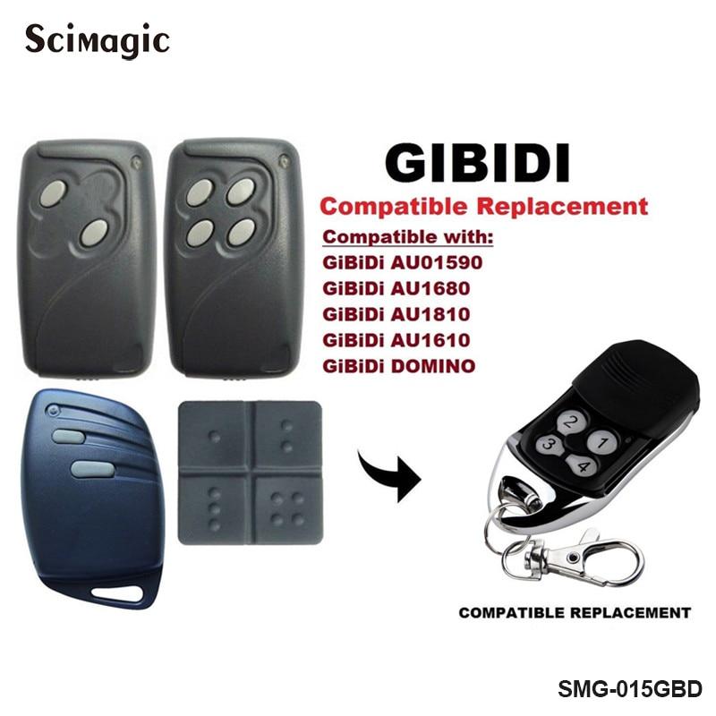 GiBiDi AU1600 , GiBiDi Domino Compatible GIBIDI Replacement Garage Door Remote Control