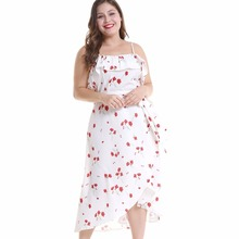 Whtie dress women vestido spaghetti strap vestidos lace-up bacckless defined-waist swing elegant puls sizes vadim
