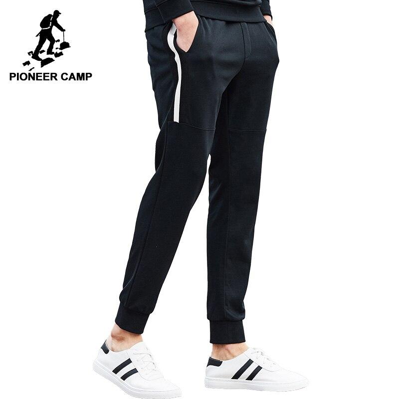 Пионерский лагерь пот Штаны брендовая мужская одежда Осень-весна мужского пота Штаны наивысшего качества черные мужские джоггеры брюки ...