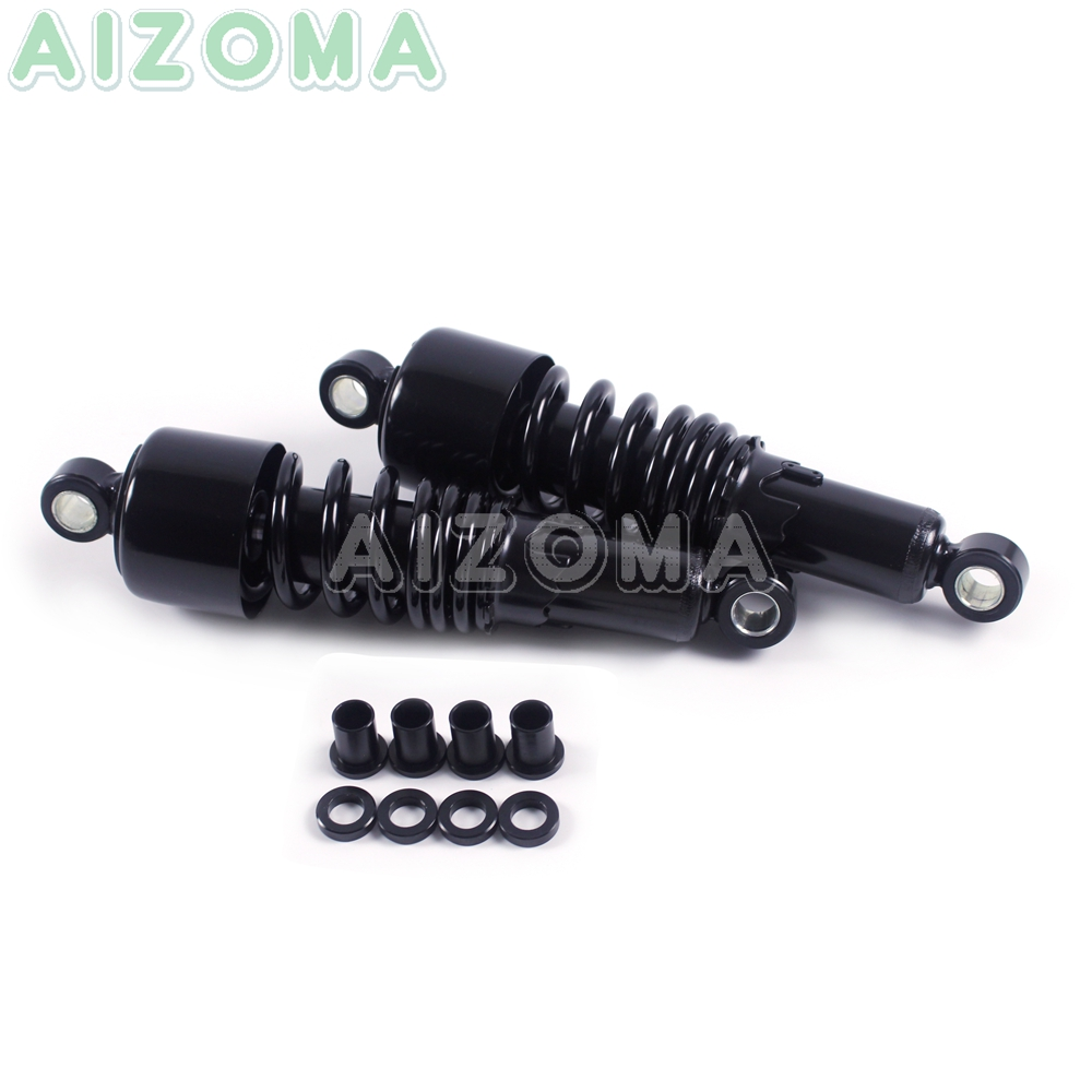 """Image 4 - Motorcycles Rear Shocks Progressive Suspension Black  267mm/10.5"""" Absorber for Harley Sportster Touring FLH/FLT 80 17 Dyna 91 16-in Covers & Ornamental Mouldings from Automobiles & Motorcycles"""