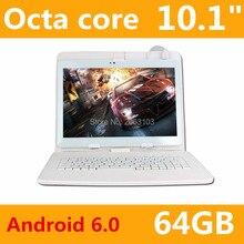 Envío gratis 2017 Más Nuevo 10 pulgadas 3G 4G Lte Tablet PC Ocat Core 4 GB RAM 64 GB ROM Dual SIM Card Android 6.0 IPS tablet PC 10