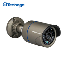 Techage 2.0MP HD 48V Real POE IP Camera Outdoor Waterproof IR Night Vision 720P 960P 1080P P2P ONVIF For Home Security CCTV NVR