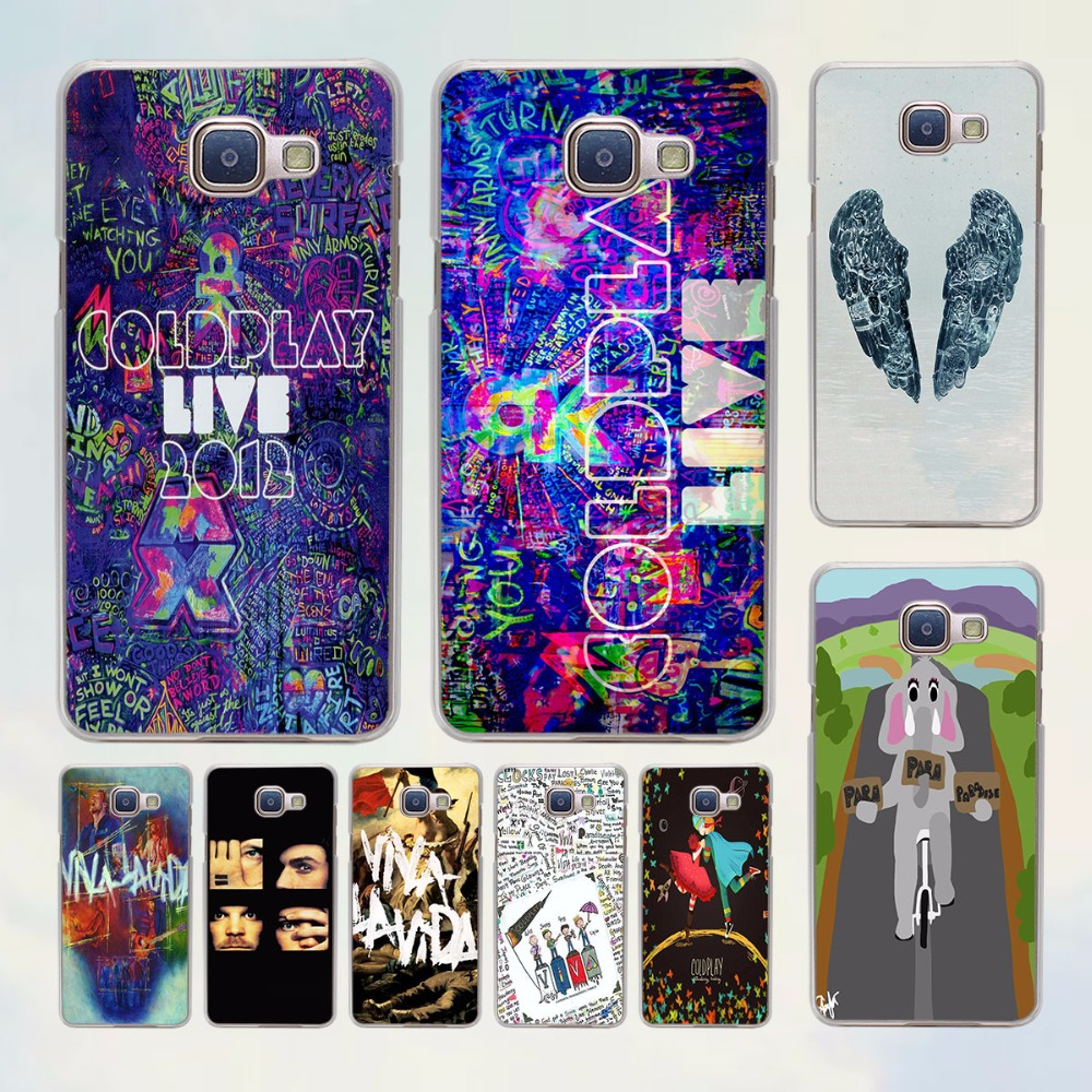 Coldplay A Head Full of Dreams design hard transparent Case for Samsung Galaxy A5 A7 2016 A8 A9 A3 A5 2017