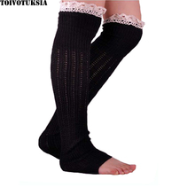 3077!Free Shipping! 1 lot=10prs Cotton Material Boot Cuffs for Womens Lace Cuff Socks