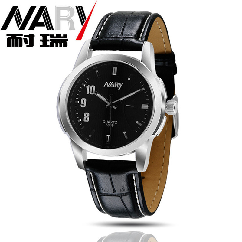 Nary Special Digital Men Women Quartz High Grade Artificial Leather Strap Watches Japan Import Movement Waterproof