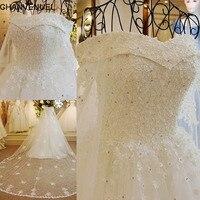 Xj89654 Online Shop China Bling Bling 2015 Wedding Dress With Crystals V Neck Dubai Wedding Dresses