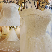 Xj89654 Online Shop China Bling Bling 2015 Wedding Dress With Crystals V Neck Dubai Wedding Dresses