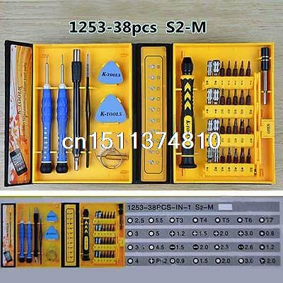 K-Tools 38 in 1 Precision Multifunction Repairing Screwdriver Tool Kit
