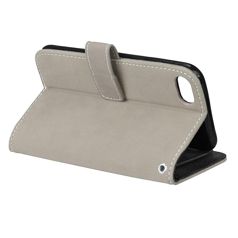 LUCKBUY 7 7Plus täcker lyx PU-läder plånbok Matt Flip Fodral för - Reservdelar och tillbehör för mobiltelefoner - Foto 5