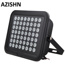 56PCS IR LED CCTV LEDS  IR Infrared Illuminator 850nm night vision AC 220V  IP65 metal Waterproof For CCTV surveillance camera