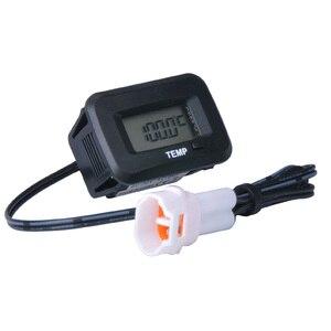 Image 3 - דיגיטלי עמיד למים שמן טנק טמפ חיישן טמפ טמפרטורת מדחום עבור אופנוע באגי quad אופני טרקטור טרקטורונים בור אופני