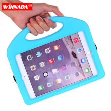 Kids Case for ipad mini non-toxic EVA handgrip stand Shock Proof  full body cover Kids Children Safe eva for ipad mini 1 2 3 4 kids cover for ipad mini 5 case non toxic eva shockproof washable stand hand holder case for ipad mini 1 2 3 4 5 7 9 inch