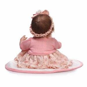 Image 5 - NPKCOLLECTION Bebes Reborn ตุ๊กตา de ซิลิโคนสาว Body 40 ซม. ตุ๊กตาน่ารักตุ๊กตาของเล่นสำหรับหญิง boneca เด็ก Bebe ตุ๊กตาตุ๊กตาที่ดีที่สุดของขวัญของเล่น