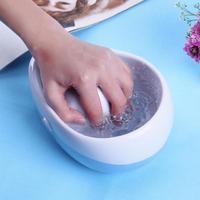 Electric Nail Polish Remover Soaker Bowl Pro Salon Manicure Hand Spa Air Bubble Bowl Nail Art Gel Polish Soak Off Soaking Bowls