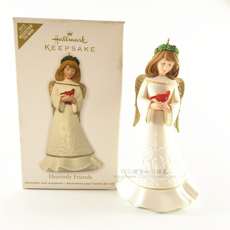 1piece 2012 Original Heavenly Friends Angell Action Figure christmas tree ornament toys image