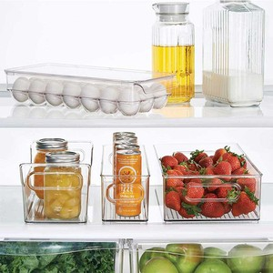Image 3 - Kitchen Boxes 14/21 Grid Egg Box Food Container Organizer Boxes for Storage Double Layer Multifunctional Egg Crisper Egg Racks