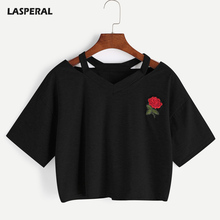 Shirts Embroidery Rose DY01