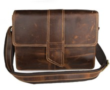 Free Shipping High Quality Genuine Vintage Leather Messenger Bag Women Shoulder Bag # 7263B-1