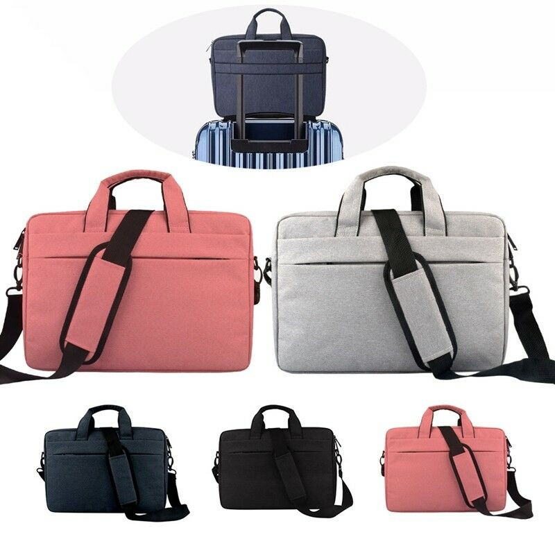 NoEnName 15.6inch Pro Laptop Shoulder Bag Cover Case Business Briefcases For HP/DELL Computer Notebook PC