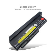 100% original 11.1 v 94wh batería de 7950 mah li-ion de 9 celdas ordenador portátil para lenovo thinkpad x220 x230 45n10029 45n10028 cuadernos 44 + +