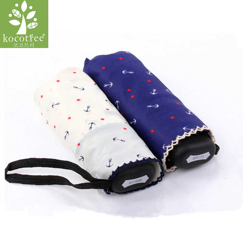 8dc19a7fba9a MUERHUA Anti UV Pocket Mini Umbrella Rain Women Windproof Durable 5 ...