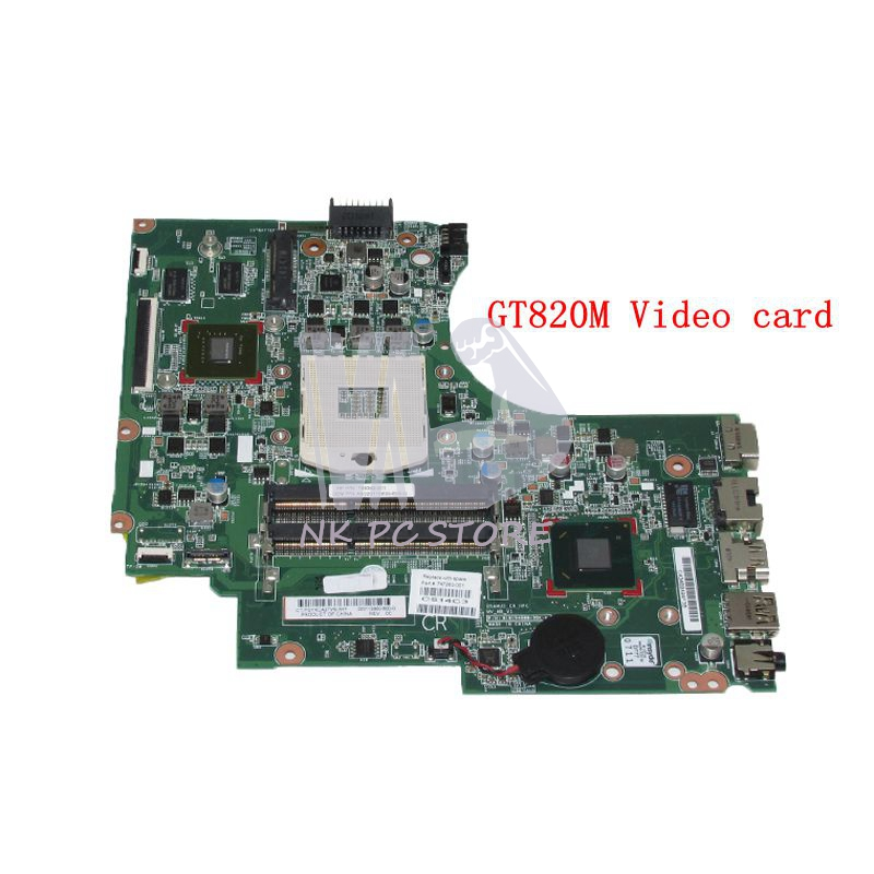 NOKOTION 747263-001 747263-501 For HP Compaq 14-D 240 G2 246 G2 Laptop Motherboard HM76 DDR3 GT820m Video card 747262 001 for hp 240 246 g2 14 d series laptop motherboard p n 010194g00 35k g hm76 mainboard rpga989 100