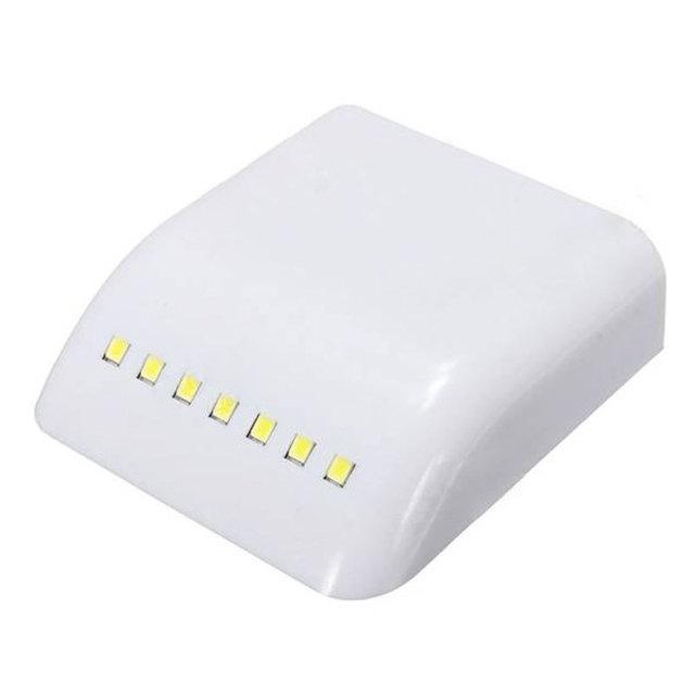 Square White Plastic Night Lamp