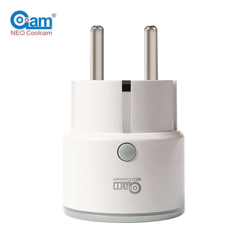 NEO Coolcam EU Smart Home Power Plug NAS-WR01 Wifi Enable for Alexa Google Home IFTTT Smart Remote Control Outlet Timing neo coolcam wifi smart remote control power socket outlet timer support google home mini ifttt alexa for smart home automation