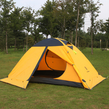 Hillman 2P professional camping tent double aluminum rod windproof and waterproof equipment