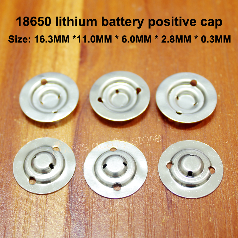 Купить 100 шт/лот 18650 литиевая батарея положительная большая крышка