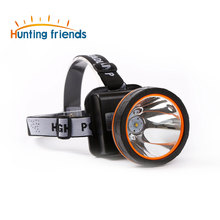 12pcs/lot Super Bright LED Headlamp Water Resistant Head Torch Built-in 3x18650 Rechargeable Batteries 2 light modes Headlight