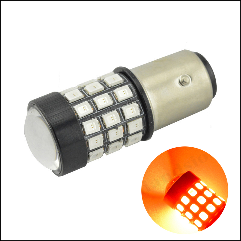 Lot 1157 39 2835 SMD BAY15D LED High Power Lamp P21/5W Led Car Bulbs Brake Tail Lights Source Parking 12V-24V Red Auto Styling