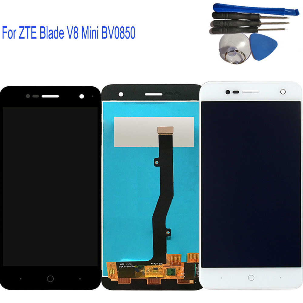 5.0 New For ZTE BV0850 Blade V8 Mini Full LCD Display Touch Screen Digitizer Assembly Replacement for ZTE V8mini +Tested5.0 New For ZTE BV0850 Blade V8 Mini Full LCD Display Touch Screen Digitizer Assembly Replacement for ZTE V8mini +Tested