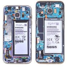 Полное покрытие пленок для задней панели Стикеры для samsung S7 S8 S9 Note8 камуфляж доска Забавный защитный Стикеры не чехол для защиты кромок