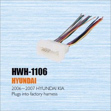 Plugs Into Factory Harness For Hyundai For Kia 2006 2007 Radio Power Wire Adapter Aftermarket Stereo_220x220 compare prices on hyundai aftermarket online shopping buy low  at cos-gaming.co