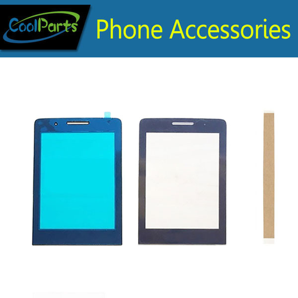 1PC/Lot High Quality For <font><b>Philips</b></font> Xenium E571 <font><b>E570</b></font> Touch Screen Digitizer Touch Panel Lens Glass Black Color With Tape image