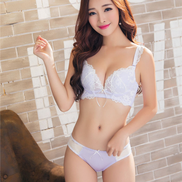da1a20256658 only a bra ,lolita style girls lace intimates sweet push up bra women  fashion bowknot diamond lingerie sexy underwear