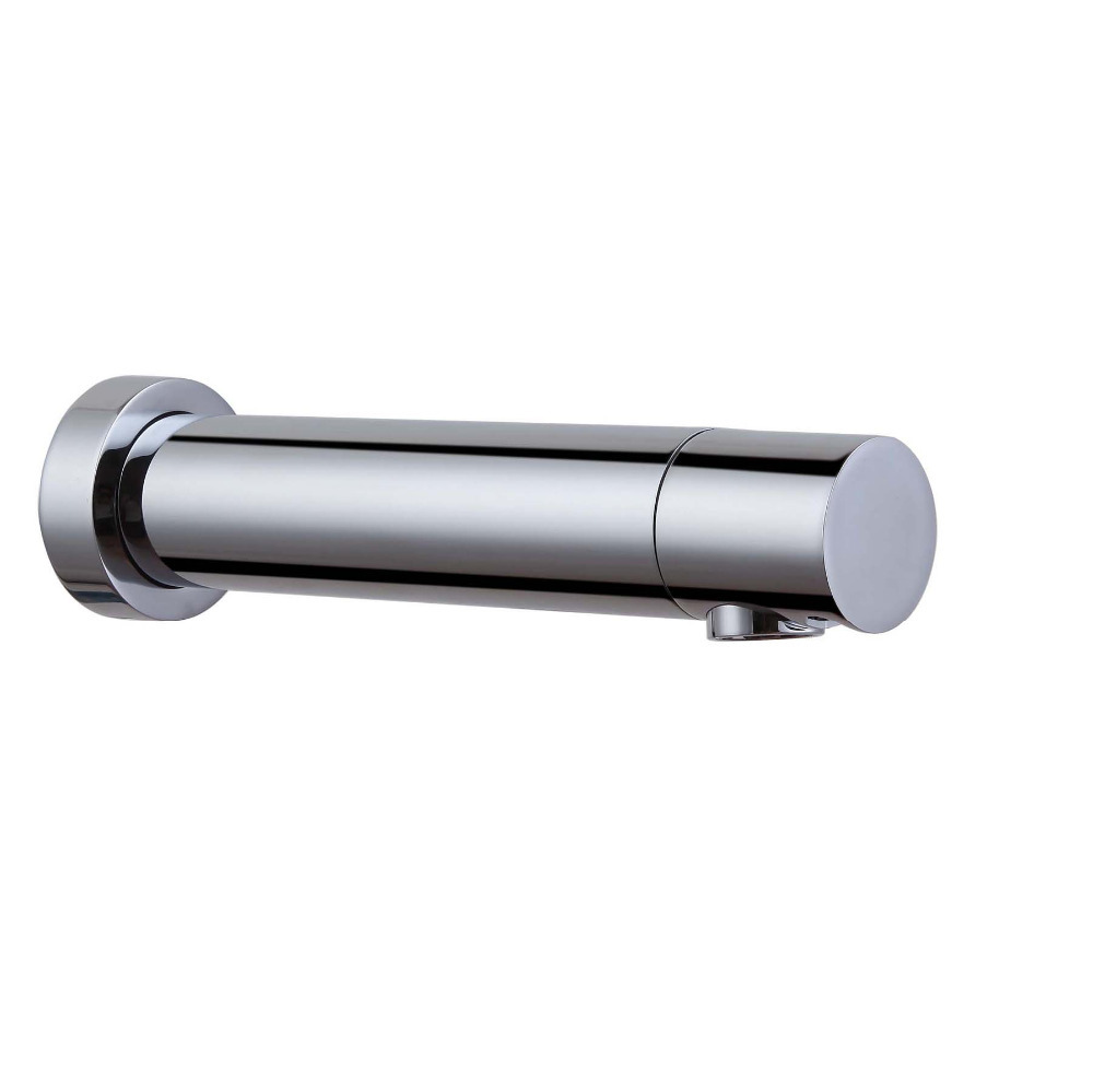 Современные Настенные полный сенсорный Бесплатная художественной автоматический кран для Ванная комната хромированной отделкой