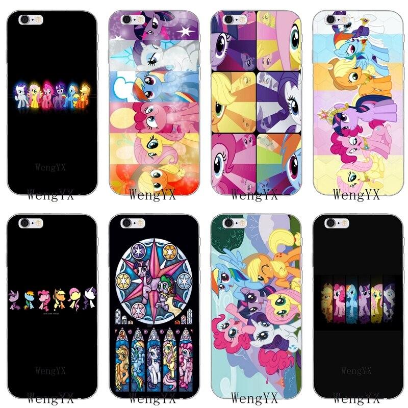 1e554d113659 cartoon cute my little pony Slim silicone Soft phone case For Xiaomi Mi 6  A1 5 5s 5x mix max 2 Redmi Note 3 4 5 5A 4X pro plus