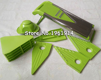 Creative Mandoline Slicer Vegetable Cutter with Stainless Steel Blade Manual Potato Peeler Carrot Grater Dicer with 5 blades