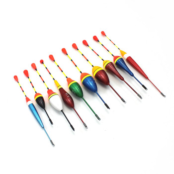 10pcs/lot fishing floats set buoy