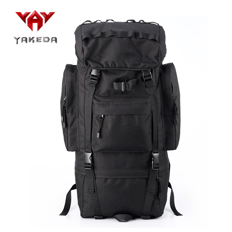 65L Nylon Climbing Backpack Watreproof Camping Hiking Outdoor Bag Waterproof Rucksack Sport bag with Rain Cover